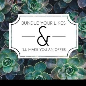 Add your likes to a bundle 😁